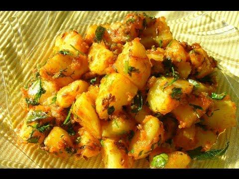 Recipe - Boiled Potato Sabzi (Gujrati)