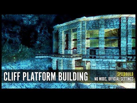 Aberration Cliff Platform Building - NO MODS, Speedbuild (ARK)