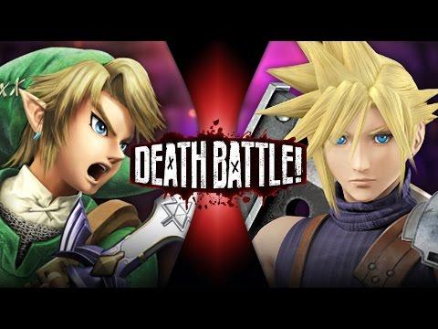 Link VS Cloud (Zelda VS Final Fantasy) | DEATH BATTLE!