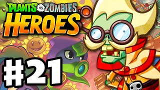 Download Plants vs. Zombies: Heroes - Gameplay Walkthrough Part 21 - Professor Brainstorm! (iOS, Android) Video