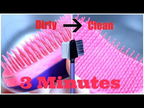 Quick & Easy: Clean Your Tangle Teezer in 3 Minutes