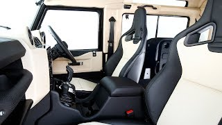 Land Rover Defender 2018 INTERIOR World Premiere New Defender INTERIOR CARJAM TV