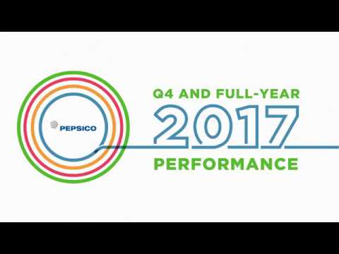 PepsiCo Q4 and Full Year 2017 Earnings