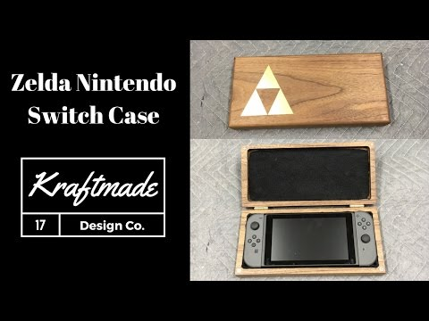 Zelda Nintendo Switch Case Build - Kraftmade
