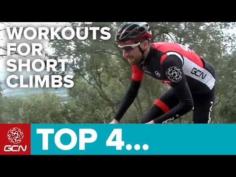 Four Cycling Training Workouts To Build Power On Short Climbs