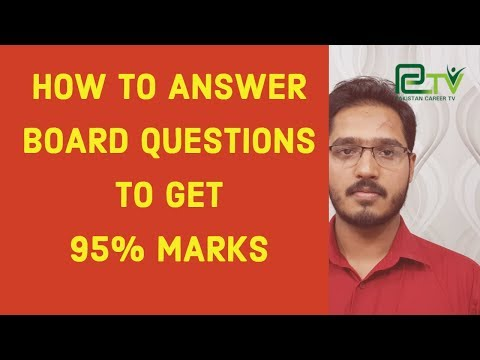 How to Answer Board Questions to get maximum Marks