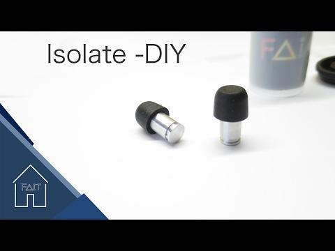 Metal Ear plugs- DIY