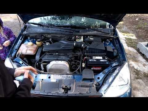 Basic Fluid Check on a Ford Focus 00 04