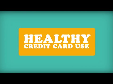 Five Tips for Healthy Credit Card Use