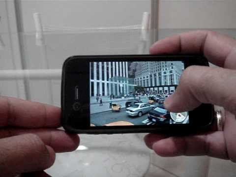 Google Maps com Google Street View no iPhone 4