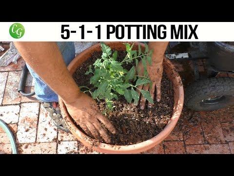 5-1-1 Potting Mix - High porosity, well draining mix
