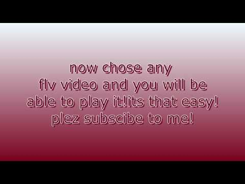 How to play flv files without converting them-Flv Player
