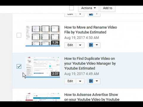 How to Display video ads on your Youtube Channel by Youtube Estimated