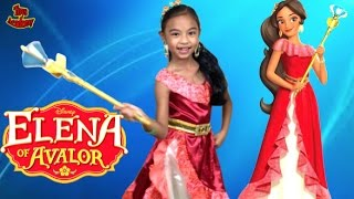 Disney Princess In Real Life Elena of Avalor Adventure Make-Over and Dress Up | Toys Academy