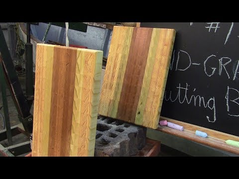 162 Making an end grain cutting board