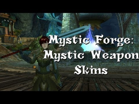 Guild Wars 2 - Mystic Forge Secrets: Mystic Weapons (Also Gold!)