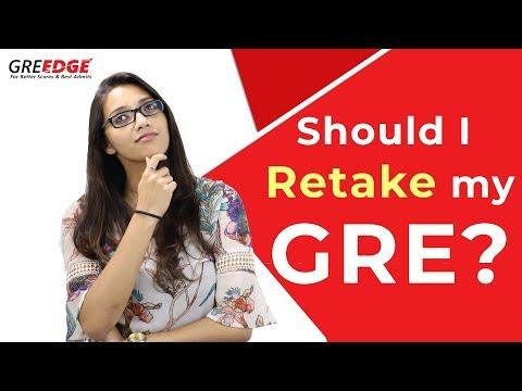 GRE score: Should I Retake GRE? (FALL 2019) || Legitwithdata7