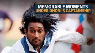 Mahendra Singh Dhoni steps down as India's ODI, T20 captain