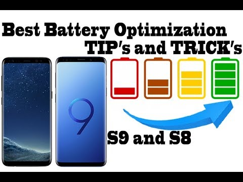 Best Battery Optimization for Galaxy S9 and S8 Full Tutorial 8.0 Oreo; we got 1,5 days of battery