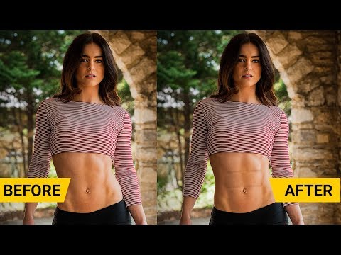 How to design SIX pack abs in Photoshop cc [Creative Art work-6 pack]