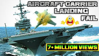 Aircraft Carrier Landing Accidents, fails, landing gear failure,fighter jet accidents 2018