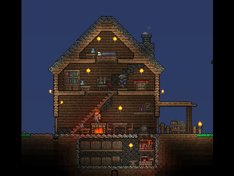 How To Build: Cozy Starter Home in Terraria 1.3