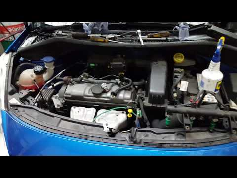 Peugeot 207 missfire fixed. Coil, spark plugs, Injector removal and test.