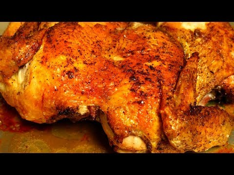 Crispy Roasted Chicken Recipe