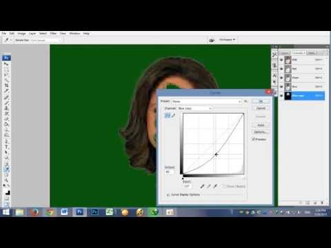 How to make Alpha channel with photoshop CS3