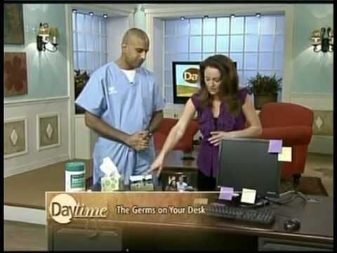 Office Germs: Dr. Srinivas Iyengar on NBC's Daytime