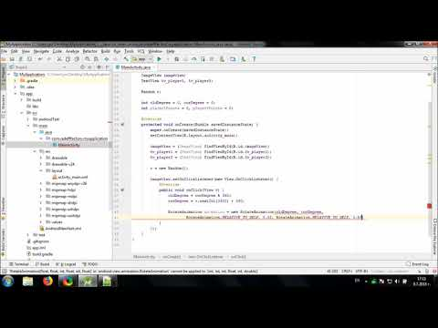 Develop simple Spinning Game in Android Studio