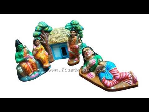 Ramayana Navarathri Golu Dolls