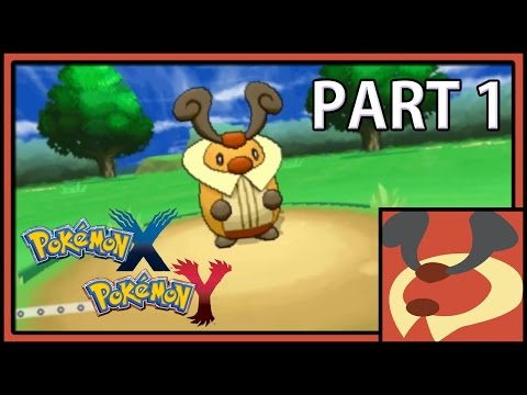 Pokemon XY:  Solo Run with kricketune -Part 1 What a great start!
