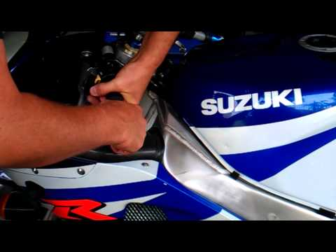 Replacing grips and bar ends K1 GSXR-750