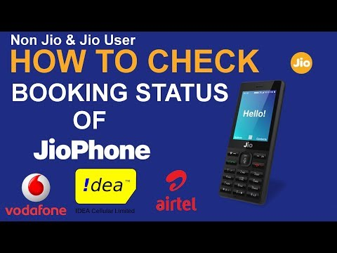 How to Check the Booking Status of Pre-Booked Jio Phone for Jio and Non Jio SIM User [HINDI]