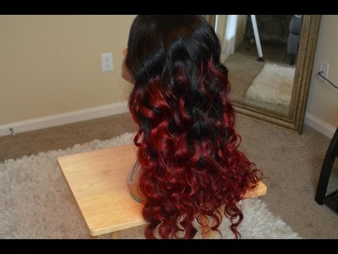 Red Hair Tutorial   Red Ombre