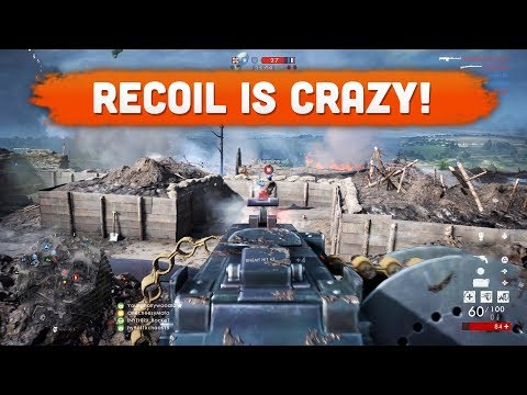 THE RECOIL IS CRAZY! - Battlefield 1 | Road to Max Rank #109