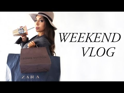 WEEKEND VLOG: What Did I Buy, New Skincare, LV & Zara