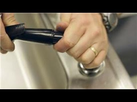 Kitchen Sink Faucets : How to Remove the Spray Head From a Sink