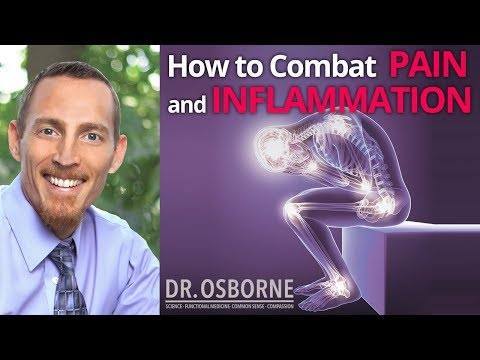 Strategies to combat pain and inflammation.
