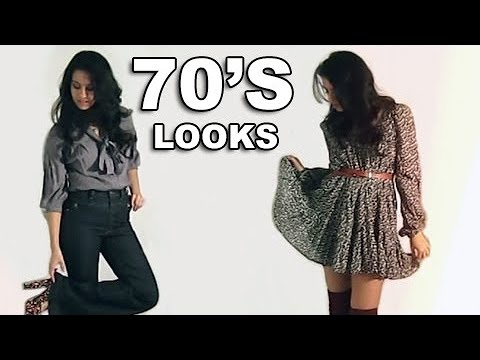 70's Inspired Outfits | Lookbook