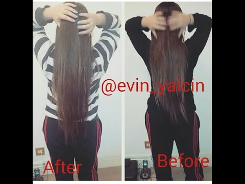HOW TO GROW YOUR HAIR OVERNIGHT (2 INCHES IN 16 HOURS!) | Evin Yalcin