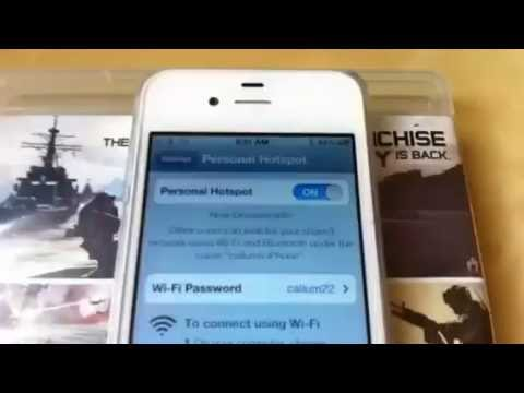 Connect ps3 to Internet use in 3G on iPhone 4