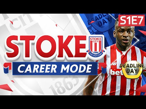 FIFA 16 Stoke Career Mode - NEW STRIKER SIGNING! DREAM DEBUT!  - S1E7