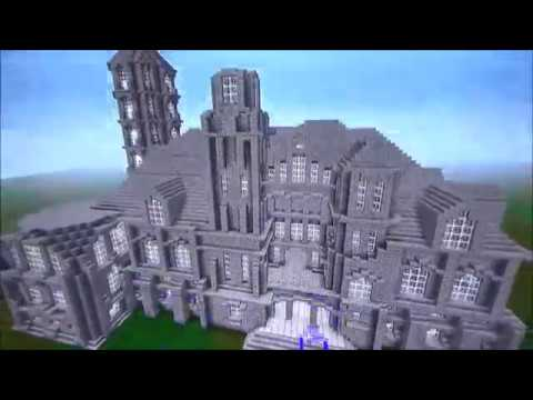 Minecraft: Stone Brick Mansion
