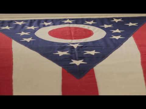 Columbus Neighborhoods: From the Vault - First Ohio Flag, Warren Harding Gown, Civil War Sword