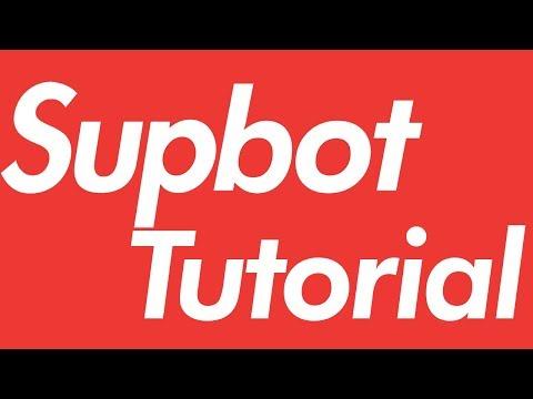 Supbot Tutorial - The fastest iOS Supreme Bot