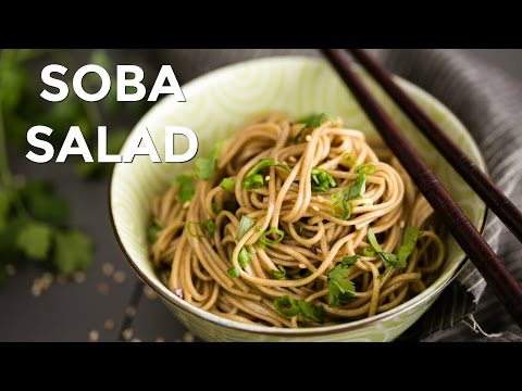 How To Make Soba Salad (Recipe) 蕎麦サラダの作り方 (レシピ)