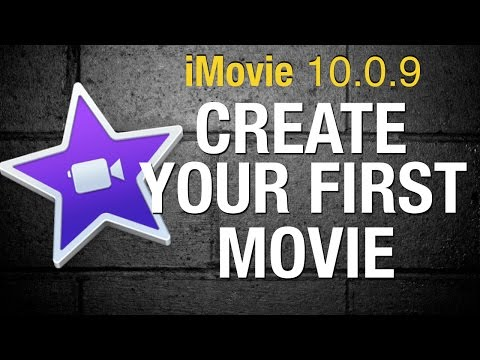 Creating a movie in iMovie for beginners - iMovie 10- 2015
