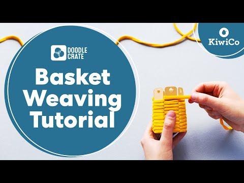 Basketweaving Tutorial from Doodle Crate